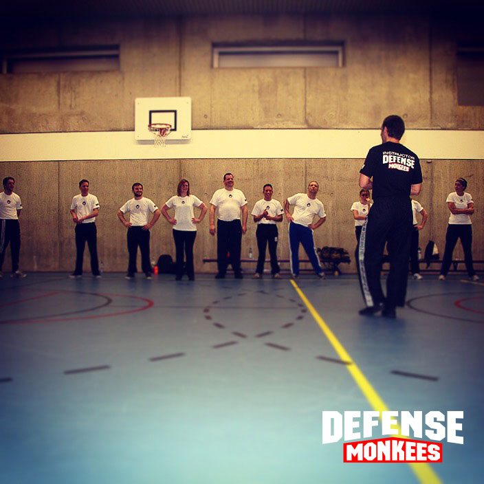 Training Krav Maga DefenseMonkees