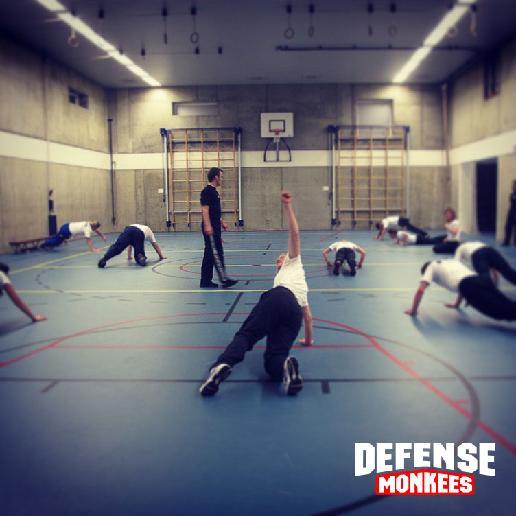 Training Krav Maga DefenseMonkees vrouwen